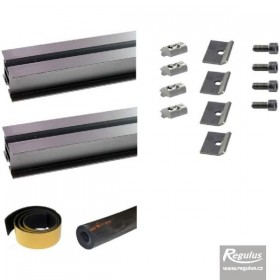 Mount kit for 1 KTU 15 solar collector