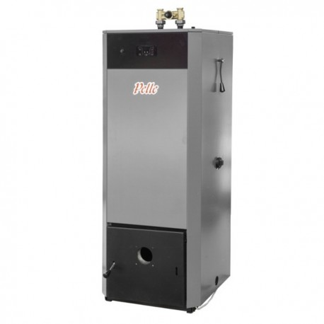 Pellet boiler Using Fumis Alpha Control Panel