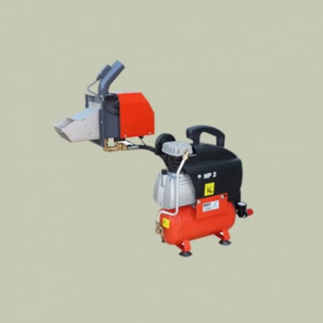 Pneumatic burner cleaner for Atmos A45