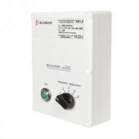 5-stage speed controller RX 1,2 A