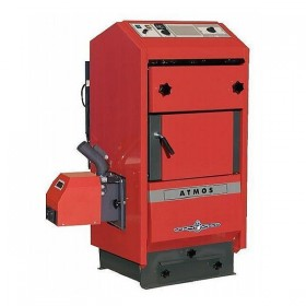 Atmos pellet boiler D50P
