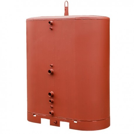 Oval storage tank 1500 l
