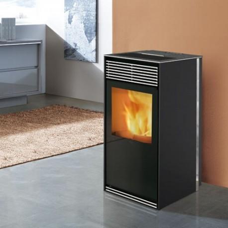 Kamin - pelletikamin - õhkküttekamin Kikka 8 kW
