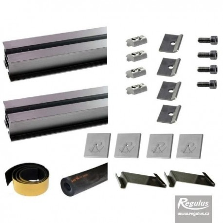 Mount kit for landscape installation 1 KPG1 solar collector