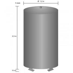 Storage tank 2500 l, pressurized