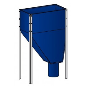 Pellet hopper 310 l (215 kg) Elektromet