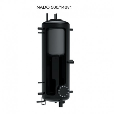 Akumulatsioonipaak Dražice NADO 500/140 v1 isolatsioonita