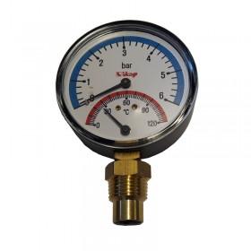 Termomanomeeter 0-120 °C
