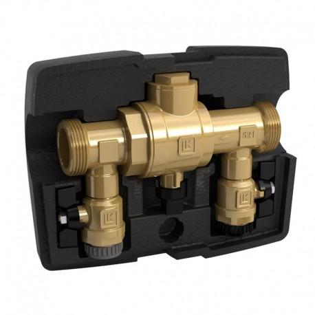 Filling of refrigerant DN 32, Kvs 22 MultiFill LK 521