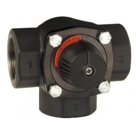 3 T ventiil - kolmiksegisti D50, Kvs 40, malm, LK 845 ThermoMix