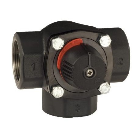 3-way valve D50, Kvs 40, cast iron, LK 845 ThermoMix