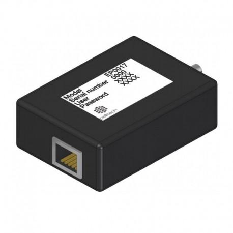 Internet module for PV burner