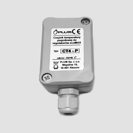 Outdoor temperature sensor KIPI CT4-P