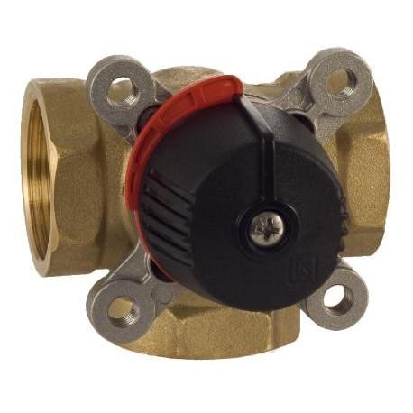 3-way valve DN32, Kvs 15, brass, LK 840 ThermoMix