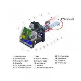 Põlemisrest PV20 pelletipõletile