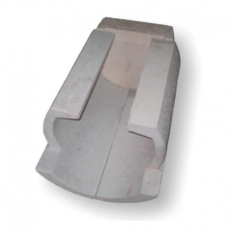 Atmos GS boiler ceramic: 3 part