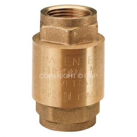 """Check valve EUROPA 1"""", ITAP"""