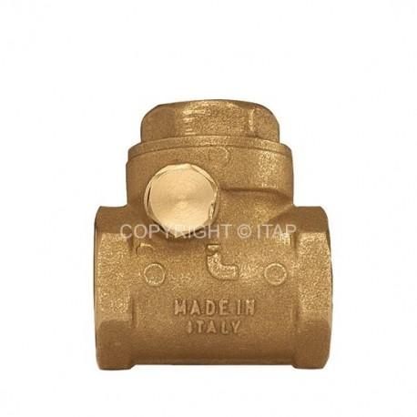 "Swing check valve 1"", ITAP"