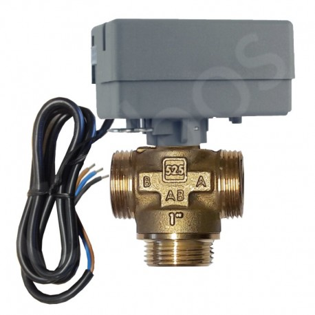 "Actuator EMV 110-K with 3-way zone valve 1"" LK 525"