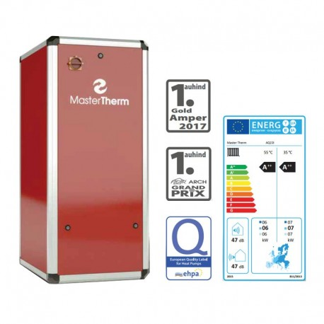 Maalämpöpumppu AquaMaster Inverter 26I STANDARD 3-9 kW Master Therm