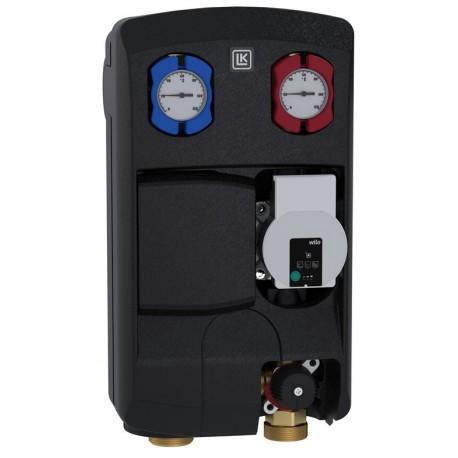 Pumbagrupp 125 R, LK 862 (Wilo pump, 3T segisti, Kvs 6,3 m³/h, kuulkraanid, termomeetrid, tagasilöögiklapp)