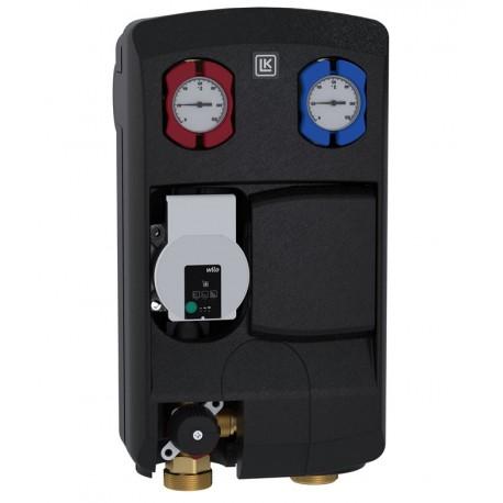 Pumbagrupp 125 L, LK 862 (Wilo pump, 3T segisti, Kvs 10 m³/h, kuulkraanid, termomeetrid, tagasilöögiklapp)