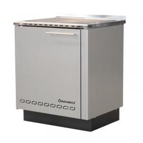 Wood cooker / hot water boiler BIO-CET 29 B, 30 kW