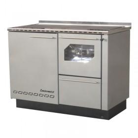 Wood cooker / hot water boiler BIO-PEK 29 B, 30 kW