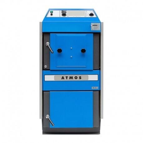 Gasification boiler pellet burner modification Atmos DC 25 S