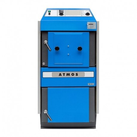Gasification boiler pellet burner modification Atmos DC 32 S