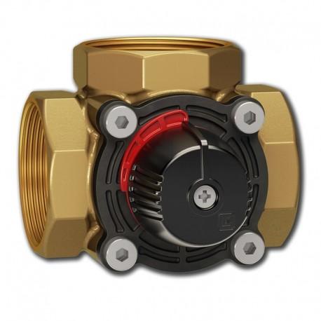3-way valve DN40, Kvs 25, brass, LK 840 ThermoMix® 2.0