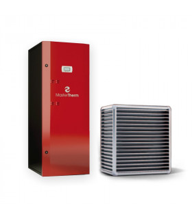 Air-Water heat pump BoxAir 26ISC Inverter Split Combi PLUS 3-9 kW Master Therm