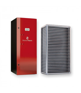 Air-Water heat pump BoxAir 37ISC Inverter Split Combi PLUS 5-17 kW Master Therm