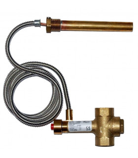 "Thermostatic valve BVTS 1,3 M Danfoss, 3/4"" 97°C"