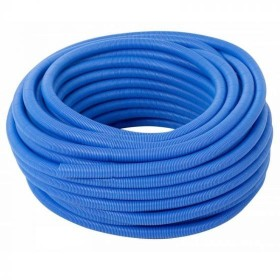 Pipe sleeve 19 mm, blue 100 m