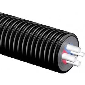 Eelisoleeritud tarbe- ja kütteveetoru 2x25x2,3-25x3,5-20x2,8 mm Uponor