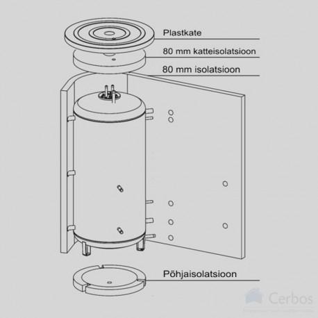 Isolatsioon akumulatsioonipaagile NAD750v3