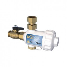 """Compact magnetic system filter 3/4"""" MG1 / white"""