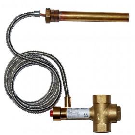 "Thermostatic valve BVTS 1,3 m, 3/4"" 97°C"