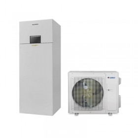 Air-Water heat pump 8 kW GREE Versati III DUAL Inverter set