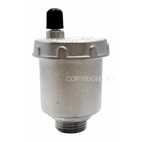 "Automatic air vent valve 1/2"", 10 bar, 110 °C"
