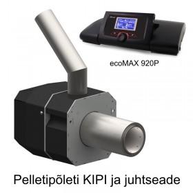 Pellet burner KIPI 5-20 kW and controller EcoMAX 920