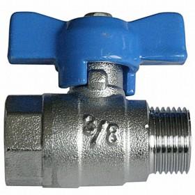 "Ball valve, G 3/8"" M/F, 160°C, solar system"