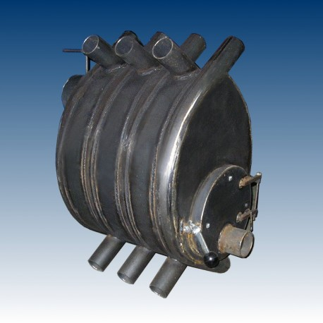 Air heating boiler, 7 tubes