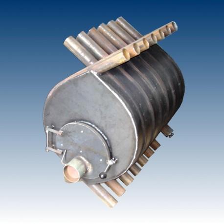 Air heating boiler, 11 tubes