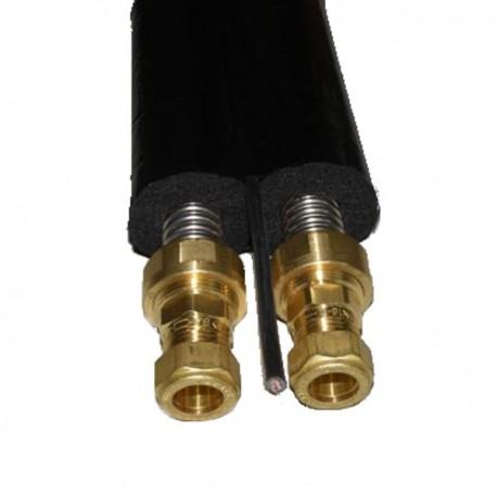 Päikesekütte paaristoru DN16, isolatsioon 13 mm