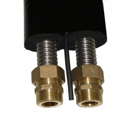 Päikesekütte paaristoru DN20, isolatsioon 13 mm