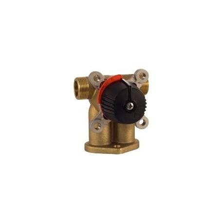 4 T ventiil - neliksegisti, DN20, Kvs 5,5, messing, LK 842 ThermoMix P