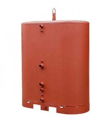Oval storage tanks