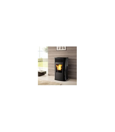 Pellet air-heating stoves